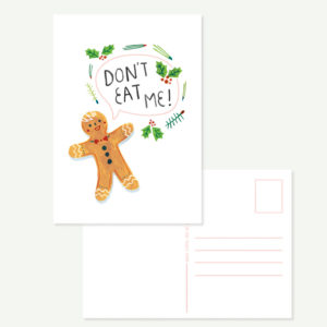 Gingerbreadman Card A6