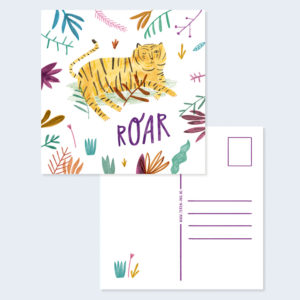Roar Card Square