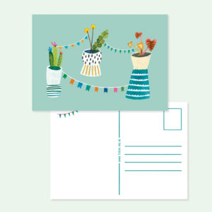 Plantgarland A6card