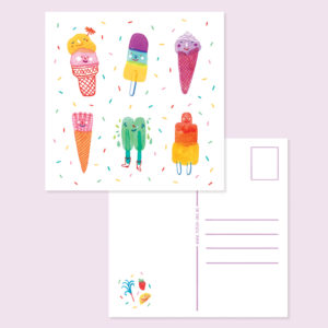 IceCream Card Square