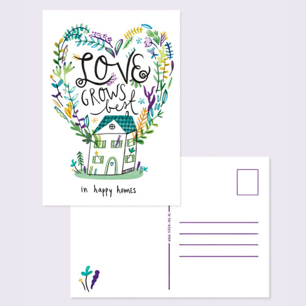 LoveGrowsBest Card A5